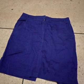 Body n soul blue skirt