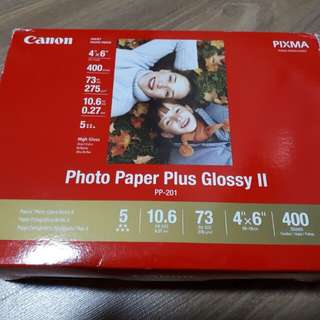 Photo Paper (Canon Photo Paper Plus Glossy II)