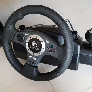 PS3 Steering Wheel. Driving force pro.