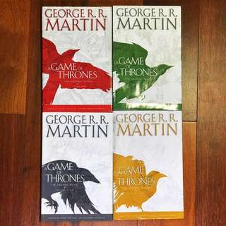 Game of Thrones: The Graphic Novel (Volumes 1-4 bundle)