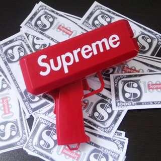 🚚 Supreme鈔票槍