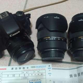 Canon 760D 加 三顆鏡頭
