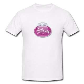 Disney Princess T-shirt D2-Men/Women
