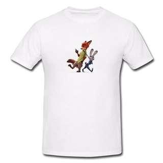 Zootopia Series T-shirt Z4-Men/Women