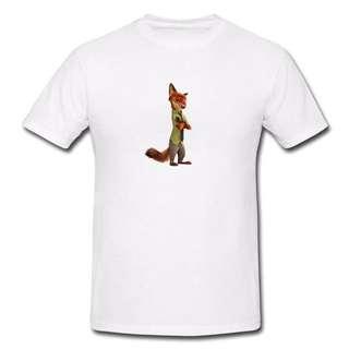 Zootopia Series T-shirt Z3-Men/Women