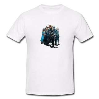 Pirates Of Caribbean T-shirt P1-Men/Women
