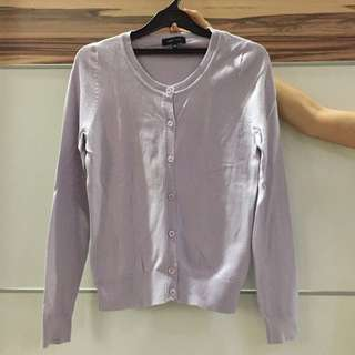 NEW LOOK lilac cardigan