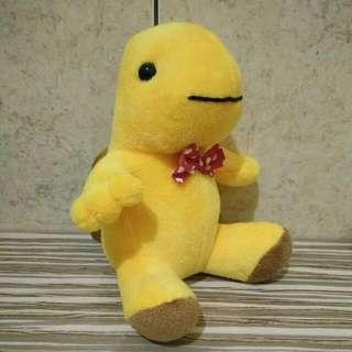 Boneka Yellow Turtle