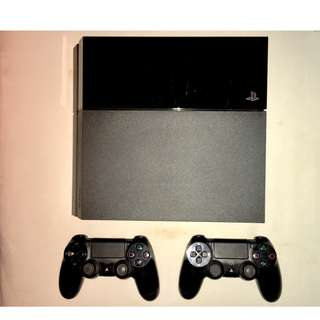 行貨 PS 4 (500GB) 手掣+鏡頭+手掣差電座