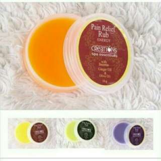 CREATIONS pain relief rub