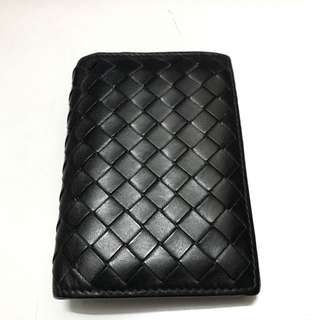 Bottega Veneta Card Holder Black Wallet Small