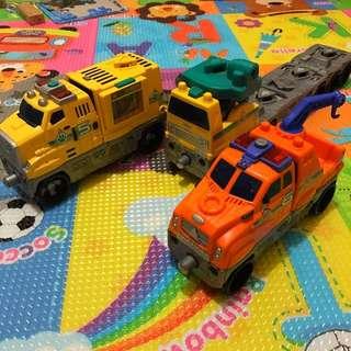 Mattel Matchbox 2002 Animal Patrol and Tow Truck set