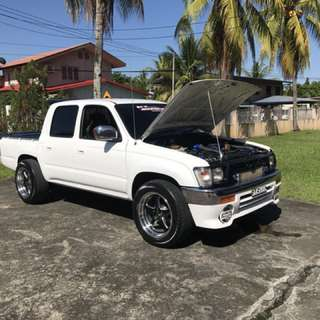Hilux LN166 Turbo Modified