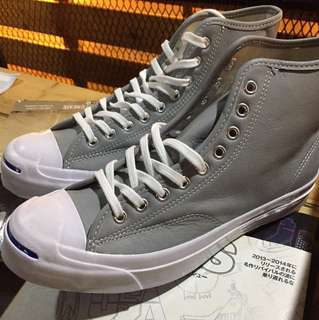 Converse Jack Purcell Hi Leather