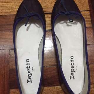 Repetto Ballerina Flats (blue, size 36)