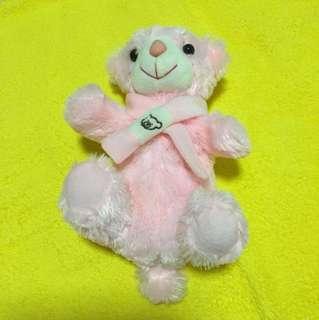 粉紅色可愛小啤啤熊筆袋公仔