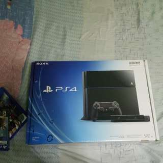 Ps4 [500GB] / willing to trade🤗