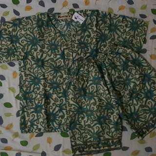 Baju Tidur/Santai Motif Batik