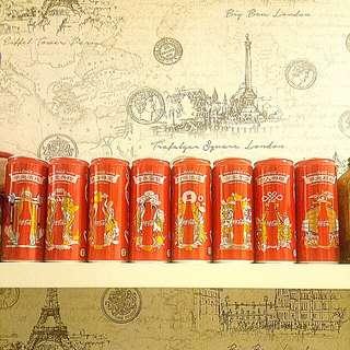 2016 CNY Coca-Cola Can Set of 8