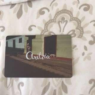 Aritzia gift card