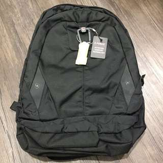 Victorinox Swiss Army black backpack