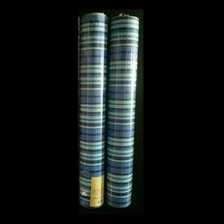 Instock 2D Blue Stripe Wallpaper