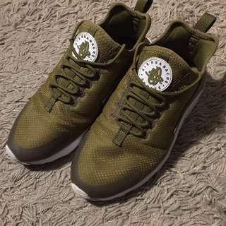 Nike 二代武士鞋 墨綠色