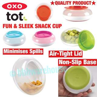 Baby snack box biscuits box toddlers snack disk and case by Oxo Tot
