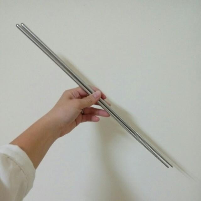 304不鏽鋼防燙39cm筷子 #好物任你換 #幫你省運費