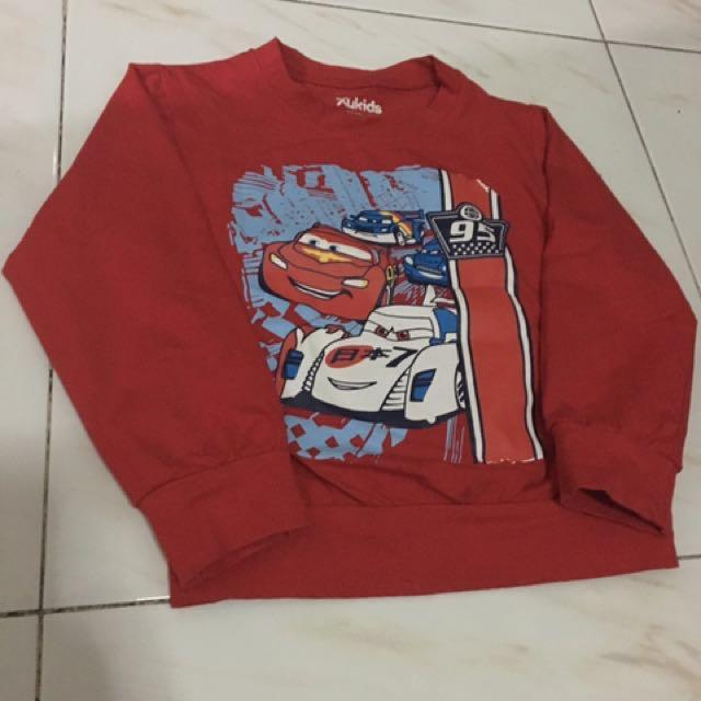 (4t) Cars Long Sleeves Shirt