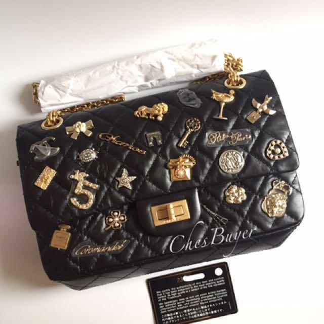 d30b994dc839 < CHANEL - Lucky Charm 2.55 Flap Bag 24cm >, Women's Fashion, Women's Bags  & Wallets on Carousell