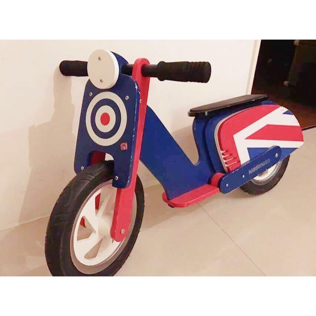 英國著名兒童滑步車 「Kiddimoto」