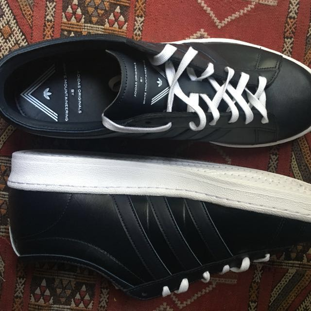Adidas originals leather by white mountaineering