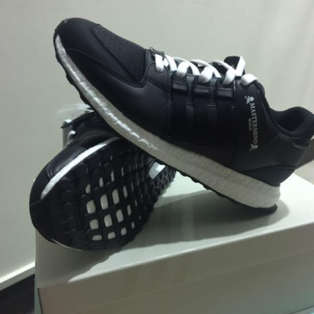 全新!Adidas Originals X Mastermind World EQT~現貨黃金尺寸