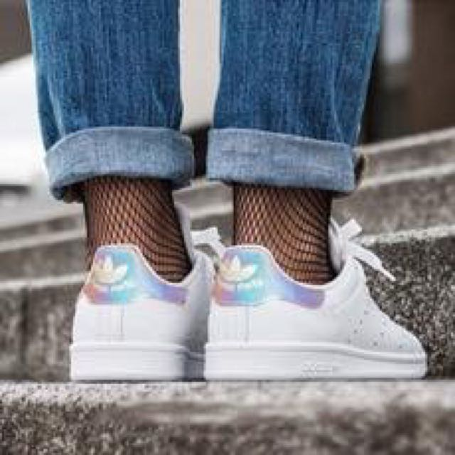 buy popular c0473 bdfe0 Adidas Stan Smith - Iridescent (3rd generation)>, Women's ...