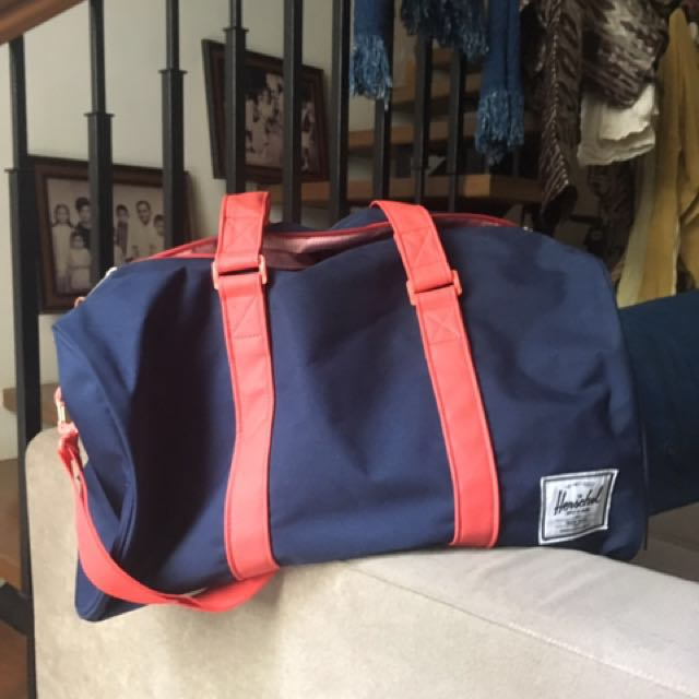 Authentic Herschel gym bag with shoe compartment