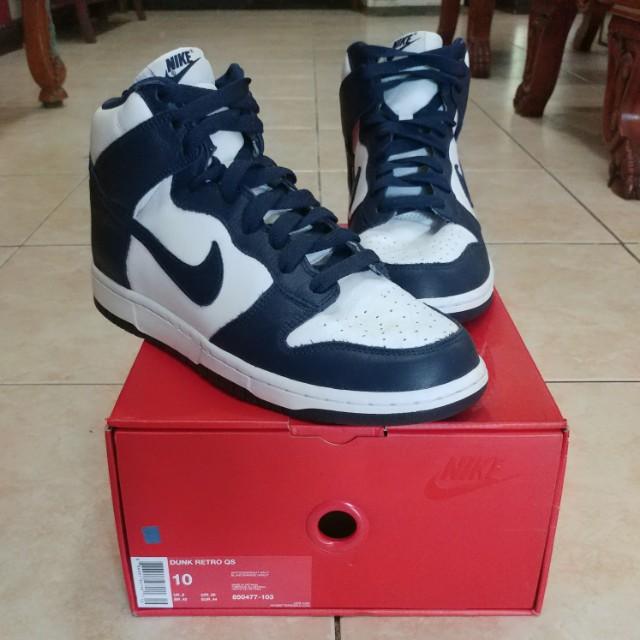 Authentic Nike Dunk Retro - Blue & White