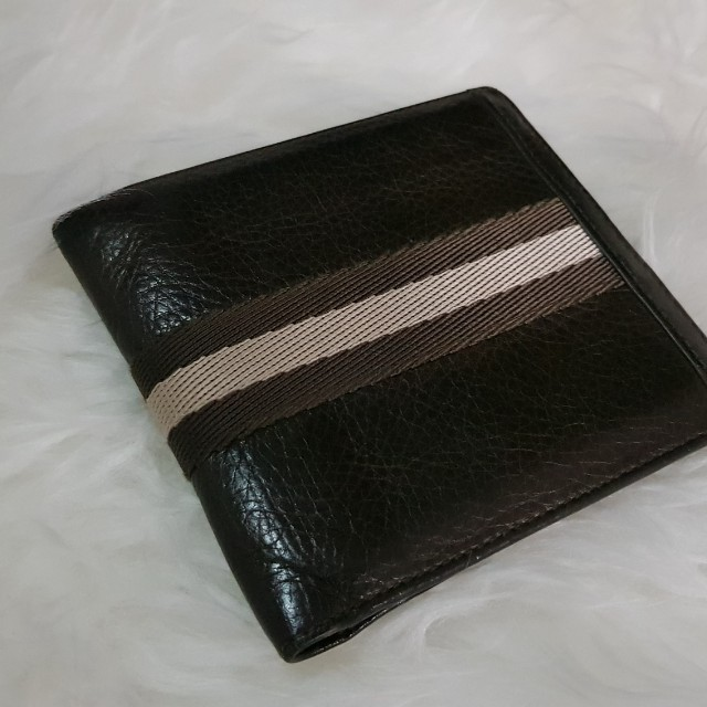 Bally Wallet Tien NAYID Brown genuine leather authentic
