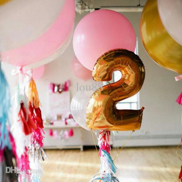 Birthday Balloon 2 Yearsold Babies Kids Toys Walkers On Carousell