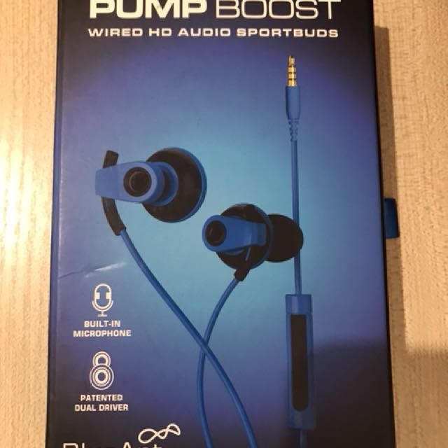 Blueant Pump Boost Wired Hd Audio Sportbuds Electronics Audio On