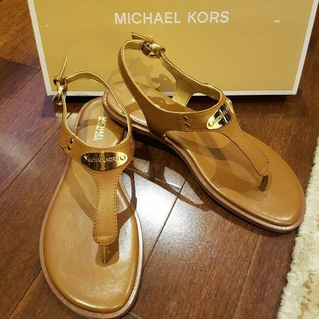 BRAND NEW MK Sandals size 6
