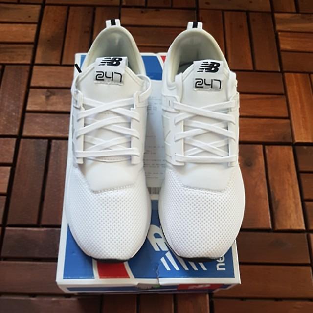Brand New Nb New Balance Ladies Lifestyle Sport Shoe White Colour