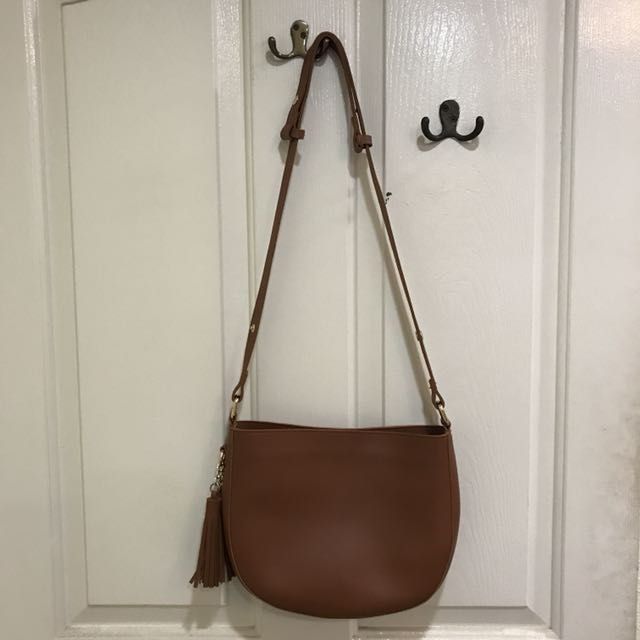 ec1d9f10b345 Brown Miss Bag Lady sling bag