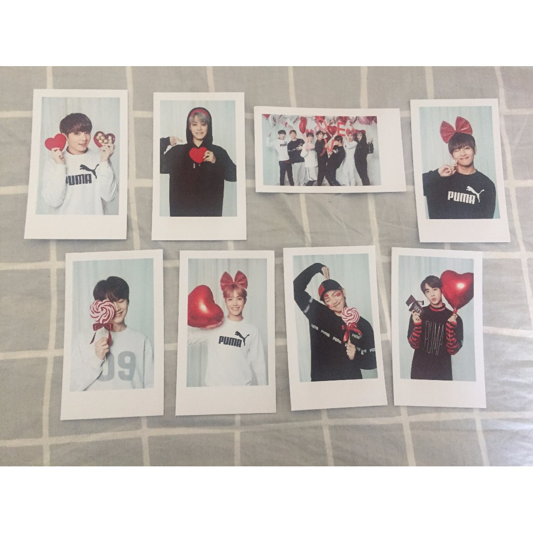 BTS UNOFFICIAL PHOTOCARDS SET
