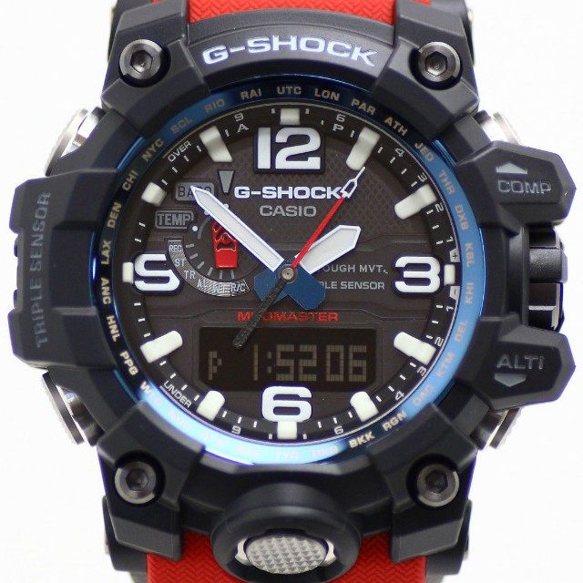 Casio G Shock GWG-1000RD-4A RESCUE RED MUDMASTER 603721b0e