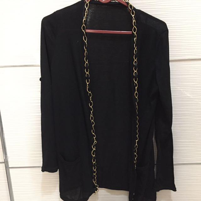 Chain cardigan