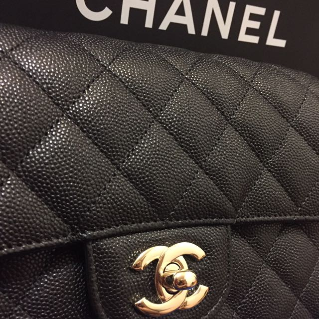 Chanel mini coco 20荔枝皮
