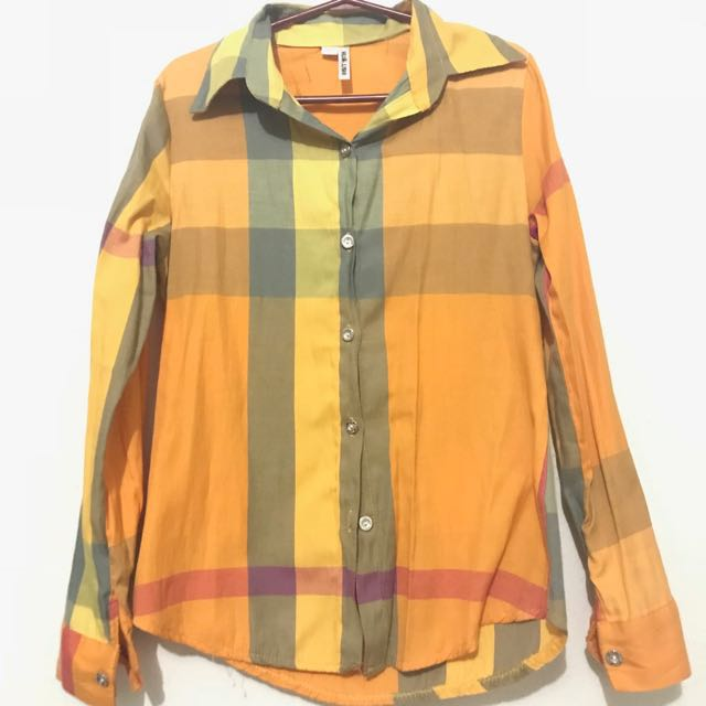 Checkered Polo Longsleeves