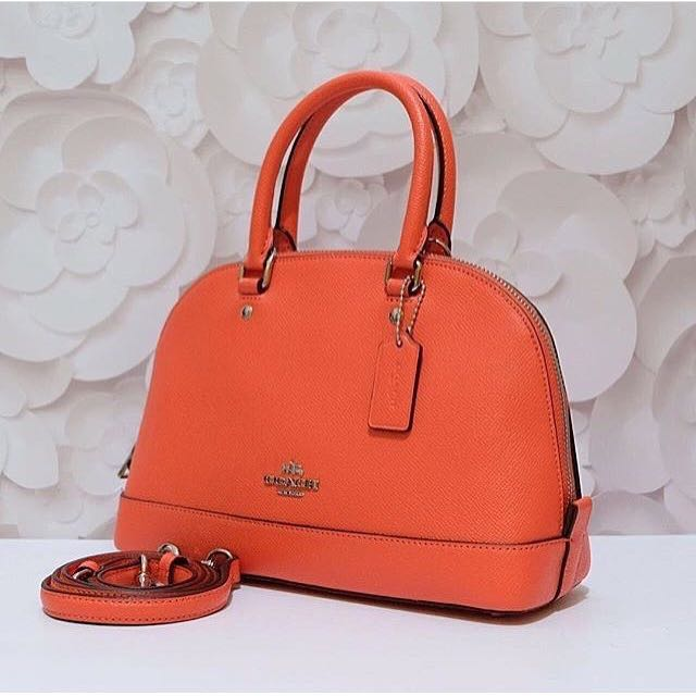 COACH MINI SIERRA ORANGE