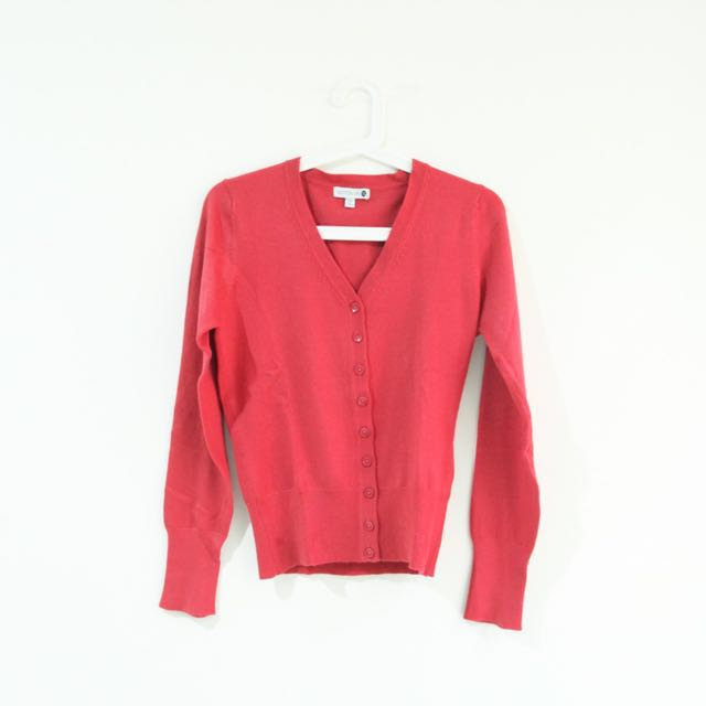 Cotton On Red Cardi